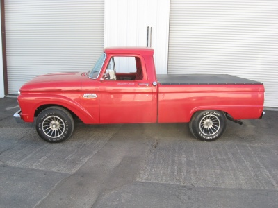 1965 FORD F-100 PICKUP - Side Profile - 81248