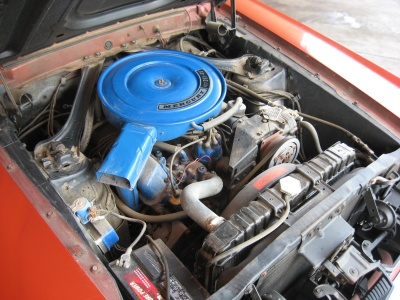 1969 MERCURY COUGAR CONVERTIBLE - Engine - 81250