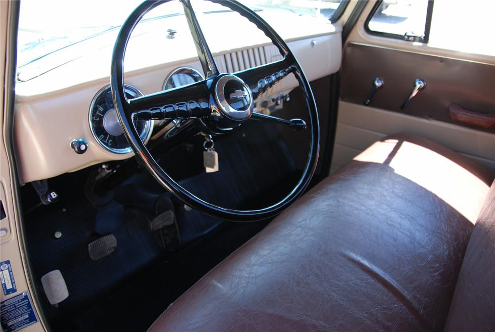 1955 CHEVROLET 3600 PICKUP - Interior - 81251
