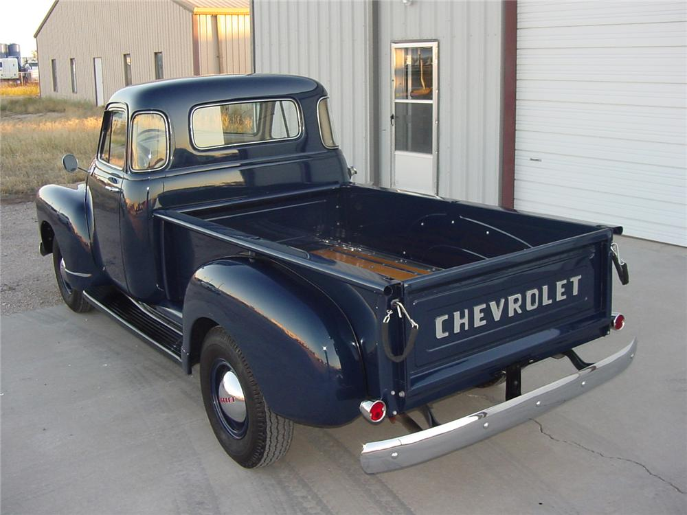 1955 CHEVROLET 3600 PICKUP - Rear 3/4 - 81251
