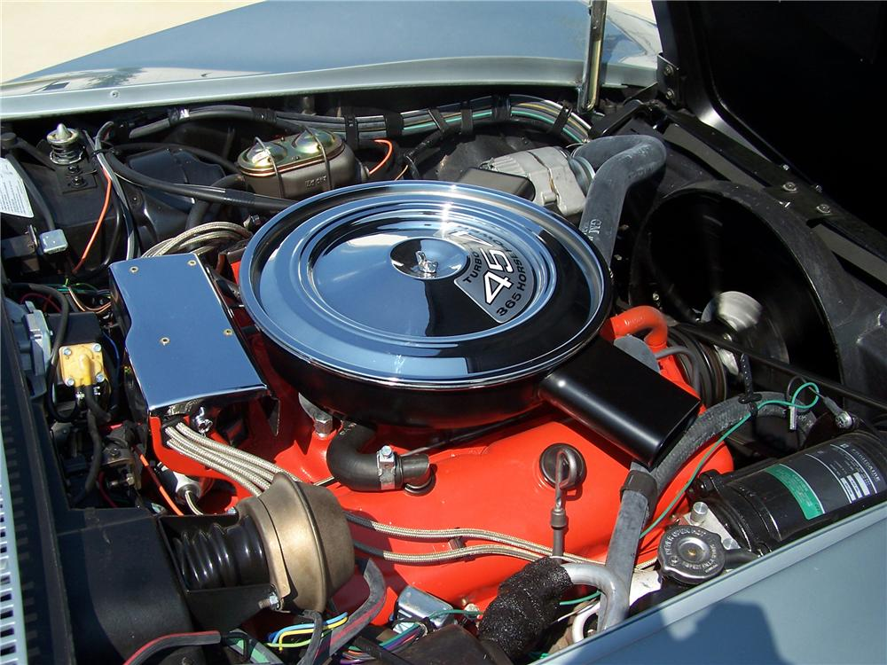 1971 CHEVROLET CORVETTE COUPE - Engine - 81252