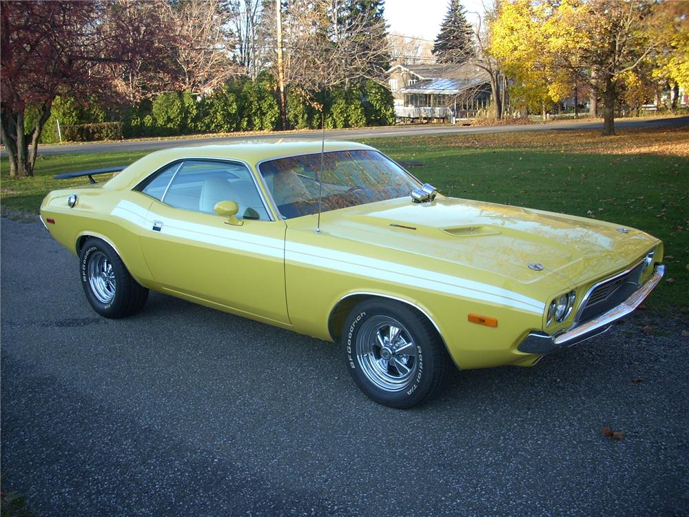 1972 DODGE CHALLENGER CUSTOM COUPE - Front 3/4 - 81254
