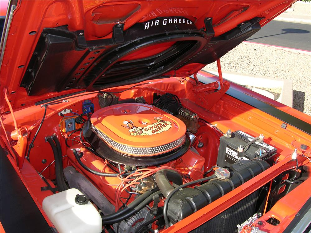 1969 PLYMOUTH ROAD RUNNER 2 DOOR COUPE - Engine - 81255