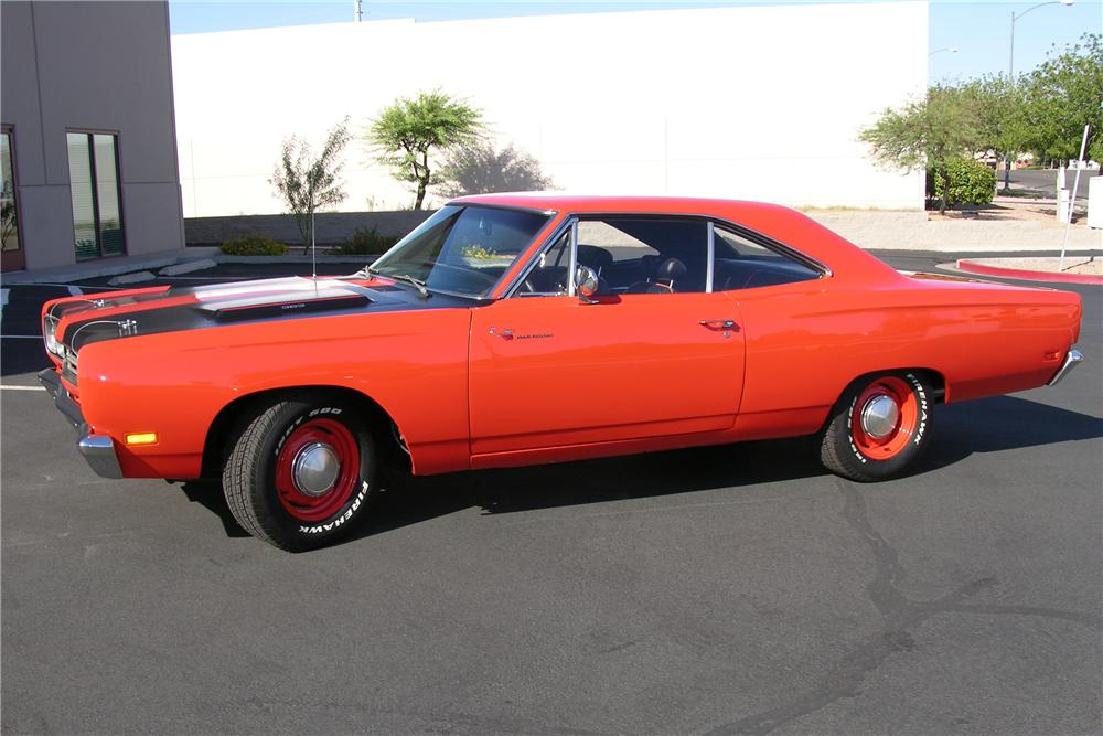1969 PLYMOUTH ROAD RUNNER 2 DOOR COUPE - Side Profile - 81255