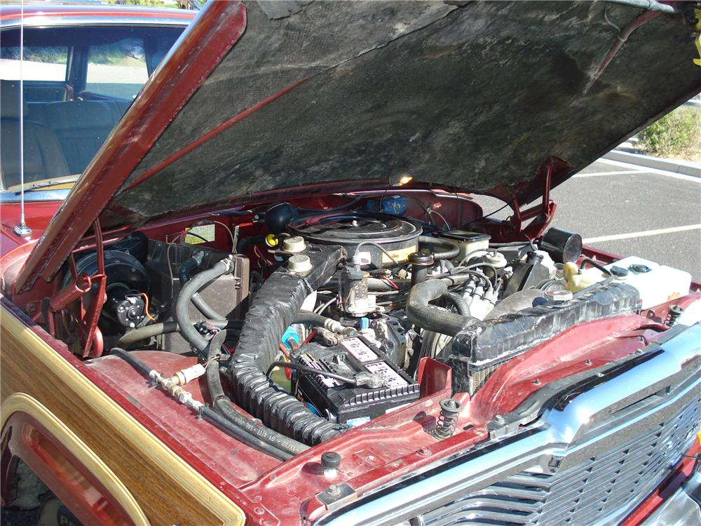 1985 JEEP GRAND WAGONEER WAGON - Engine - 81257