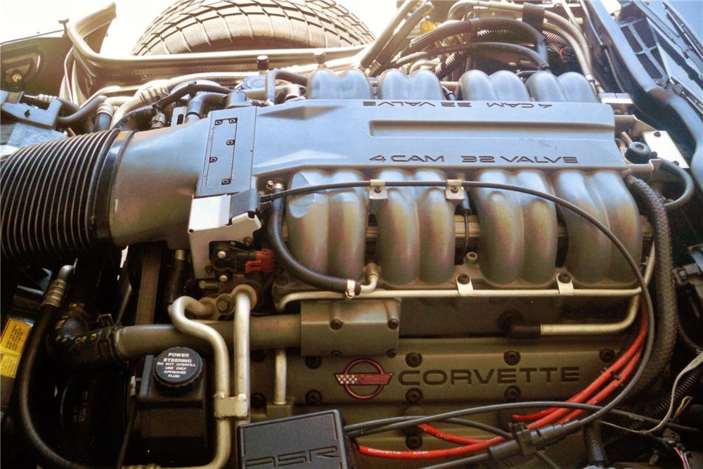 1995 CHEVROLET CORVETTE COUPE - Engine - 81258
