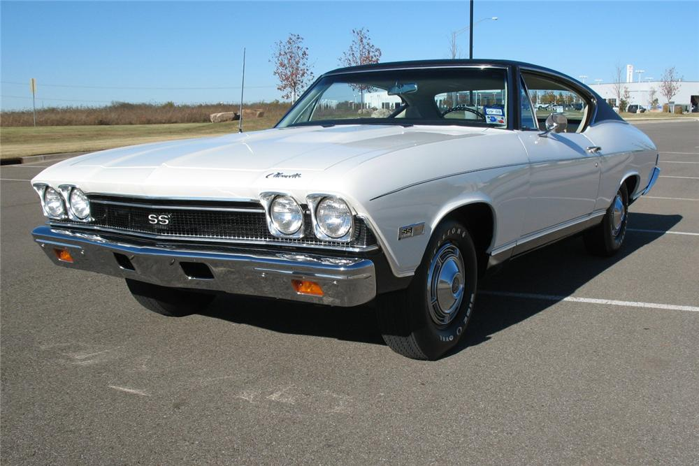 1968 CHEVROLET CHEVELLE SS 396 COUPE - Front 3/4 - 81268