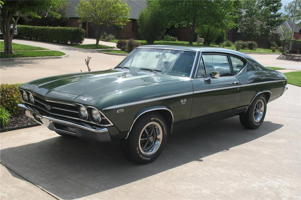 1969 CHEVROLET CHEVELLE SS 396 COUPE - Front 3/4 - 81269