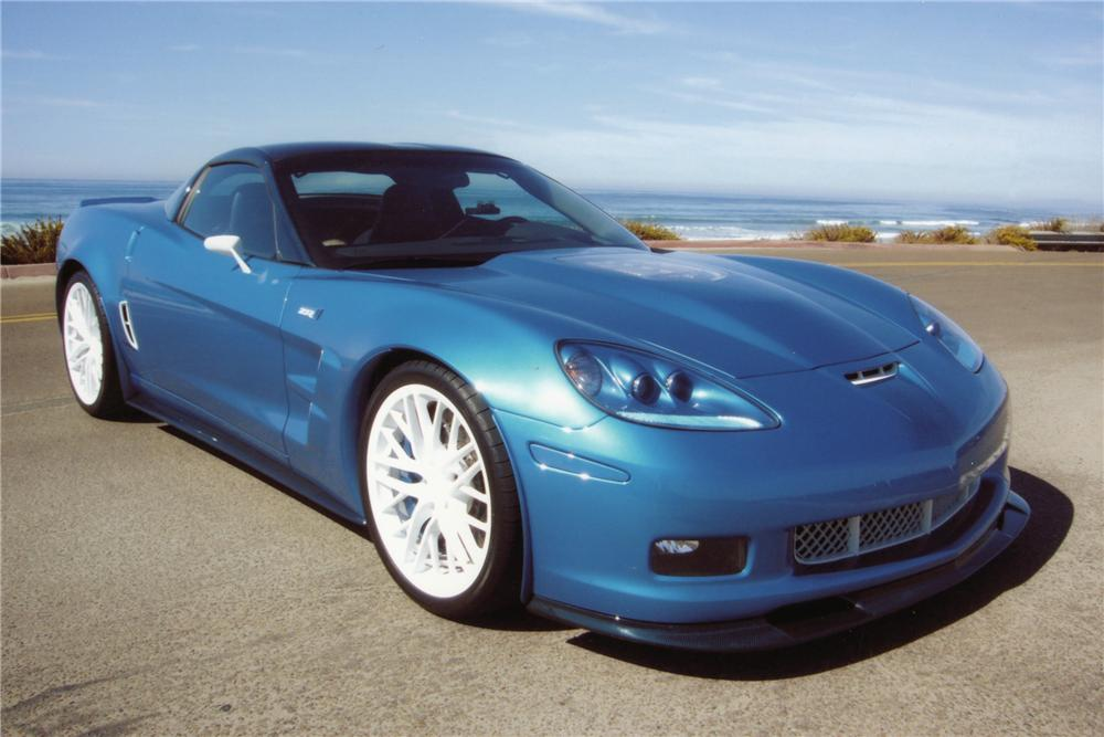 2009 CHEVROLET CORVETTE ZR1-3ZR COUPE - Front 3/4 - 81270
