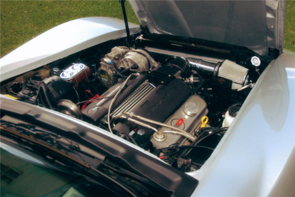 1978 CHEVROLET CORVETTE CUSTOM COUPE - Engine - 81271