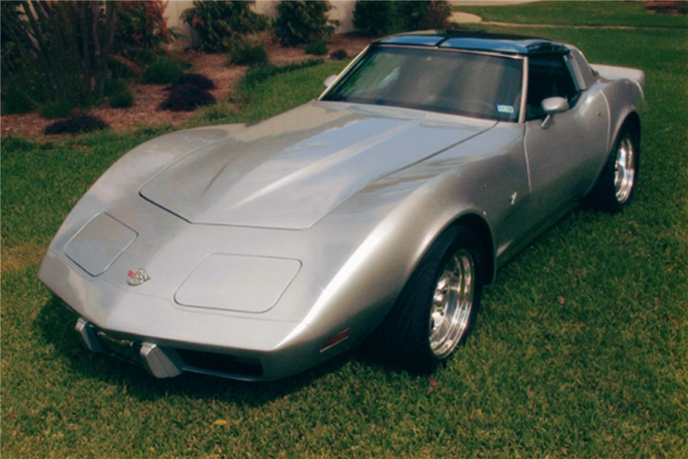 1978 CHEVROLET CORVETTE CUSTOM COUPE - Front 3/4 - 81271