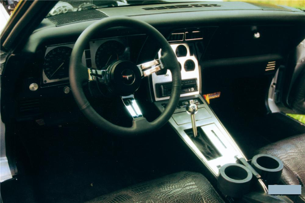 1978 CHEVROLET CORVETTE CUSTOM COUPE - Interior - 81271