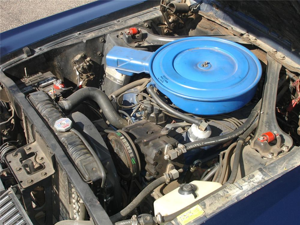 1968 MERCURY COUGAR 2 DOOR HARDTOP - Engine - 81272