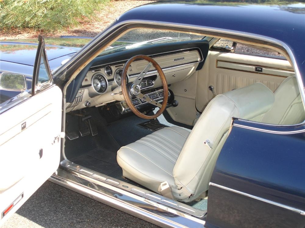 1968 MERCURY COUGAR 2 DOOR HARDTOP - Interior - 81272