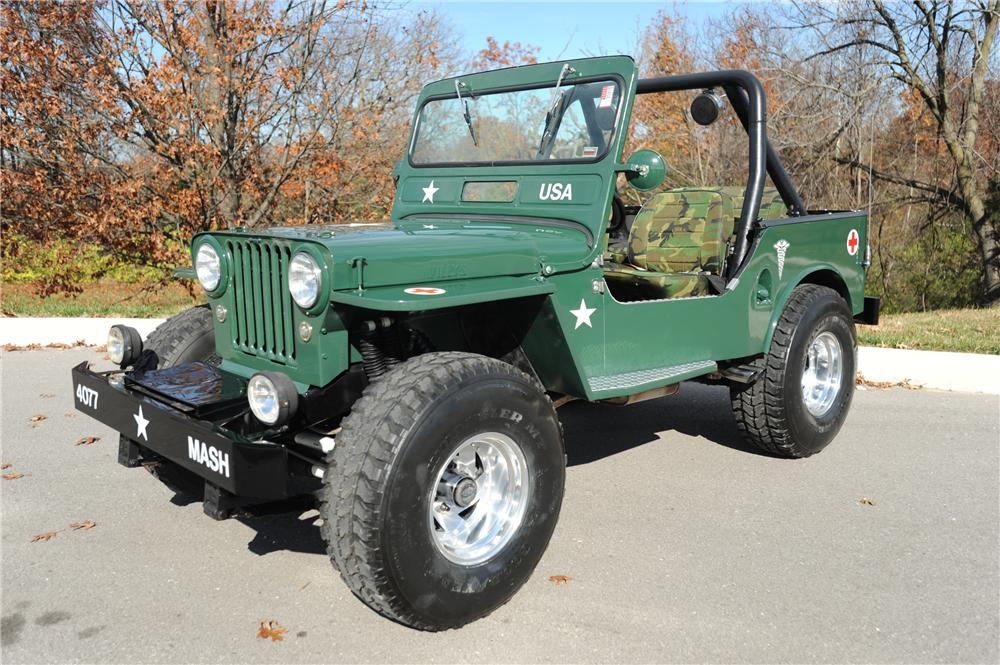 1948 WILLYS JEEP   - Front 3/4 - 81281