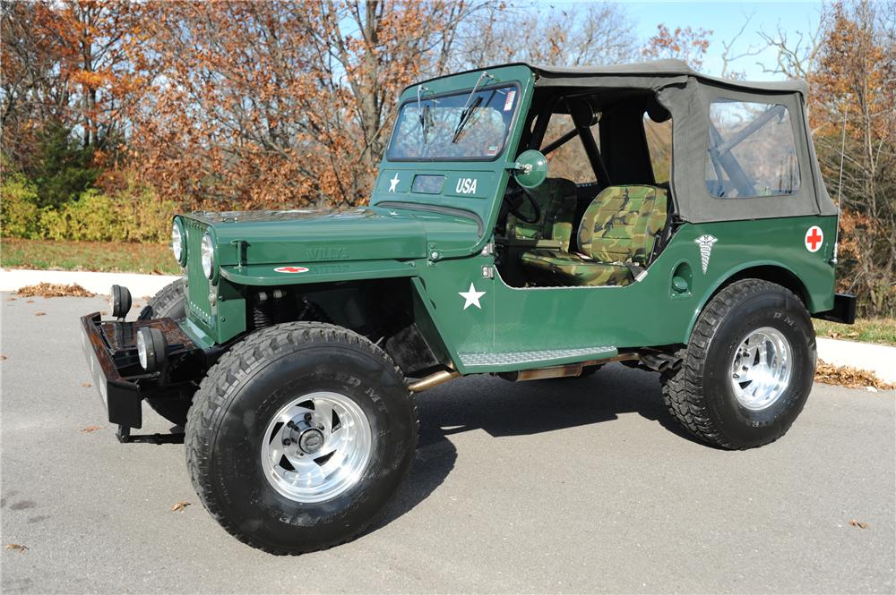 1948 WILLYS JEEP   - Side Profile - 81281