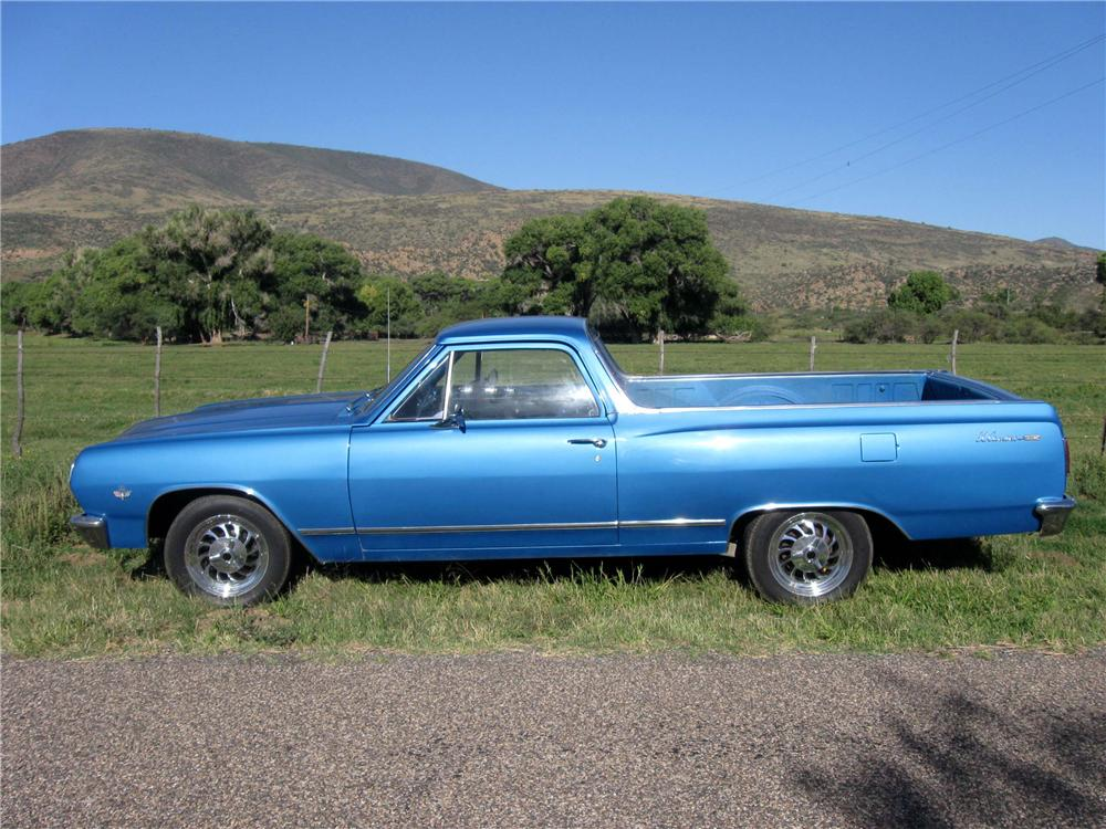 1965 CHEVROLET EL CAMINO PICKUP - Side Profile - 81283