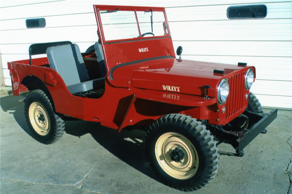 1948 Willys Jeep Cj2a 81284