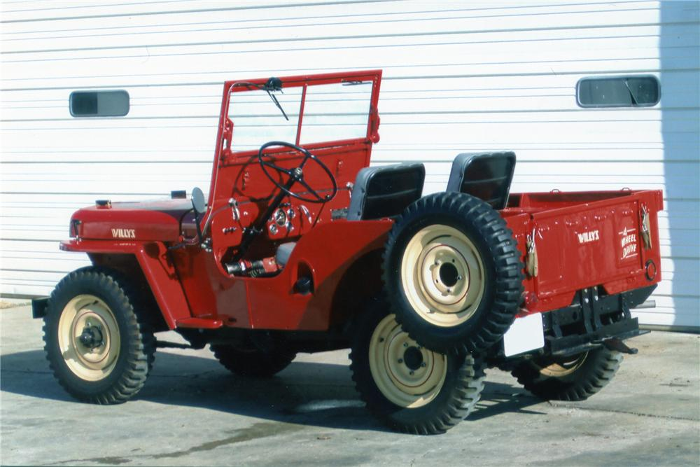 1948 WILLYS JEEP CJ2A   - Rear 3/4 - 81284