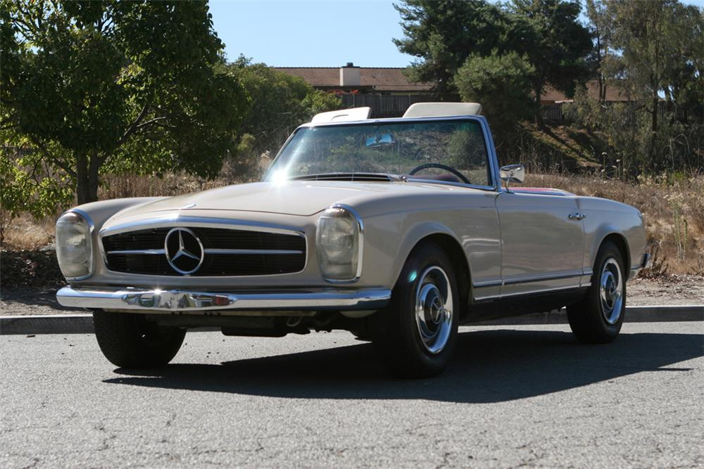 1967 mercedes benz 230sl roadster 81289 for Mercedes benz 230sl