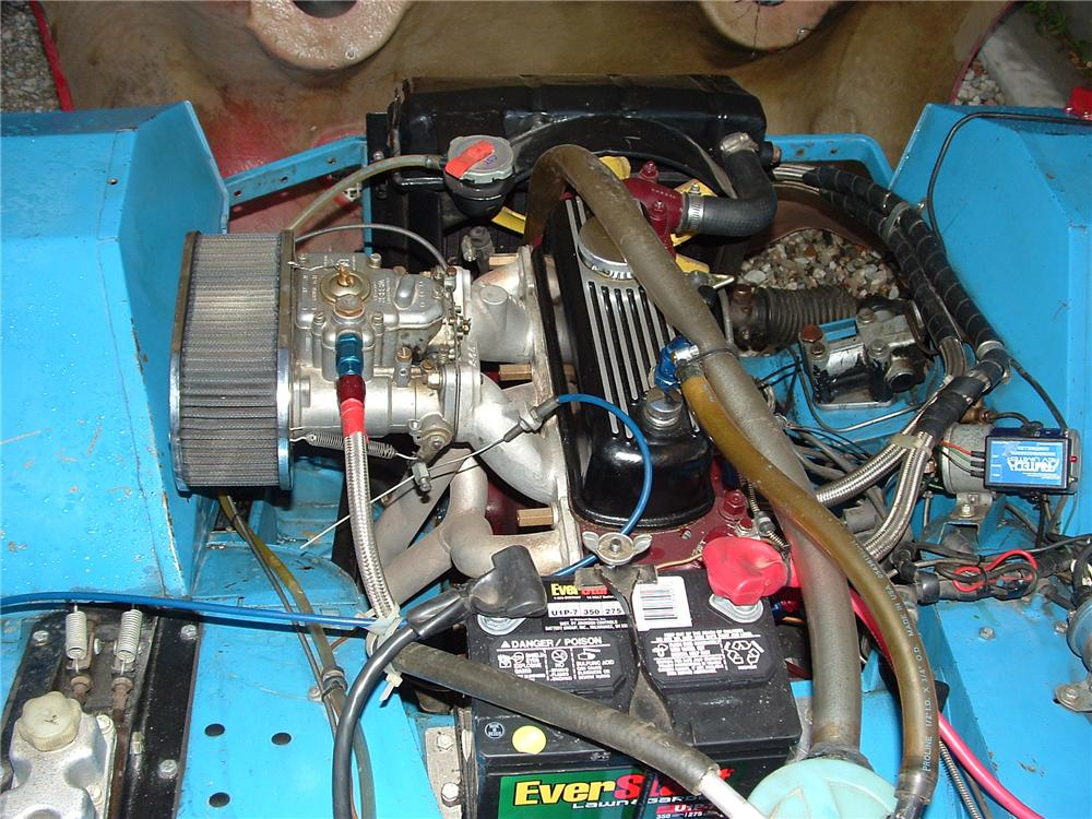 1959 AUSTIN-HEALEY SPRITE BUGEYE ROADSTER - Engine - 81292