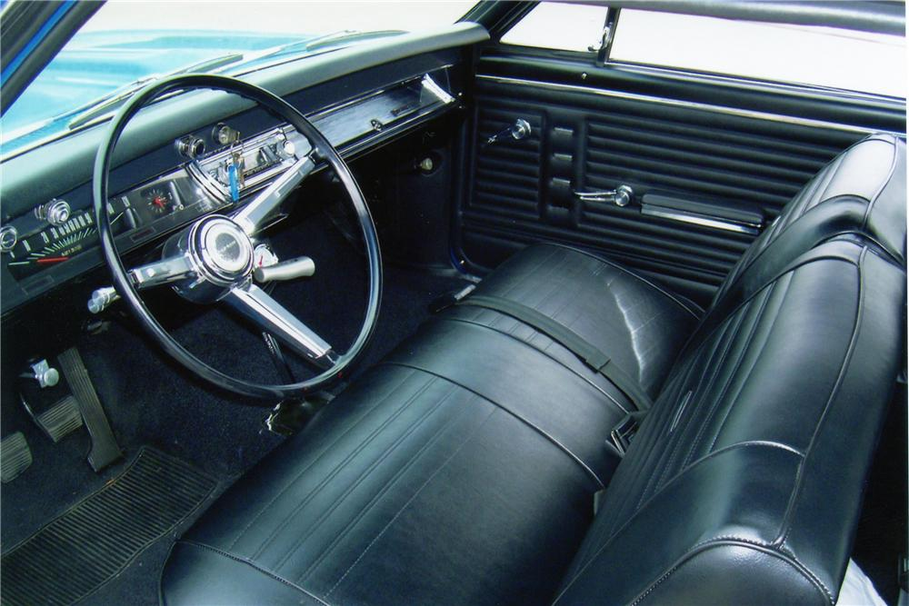 1967 CHEVROLET CHEVELLE CUSTOM COUPE - Interior - 81298