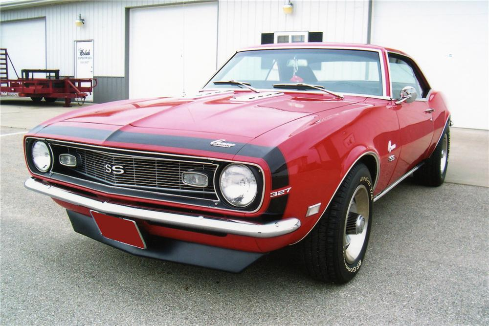 1968 CHEVROLET CAMARO COUPE - Front 3/4 - 81299
