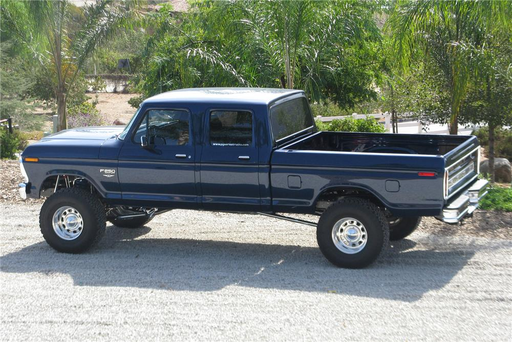 1978 FORD F-250 PICKUP - Side Profile - 81302