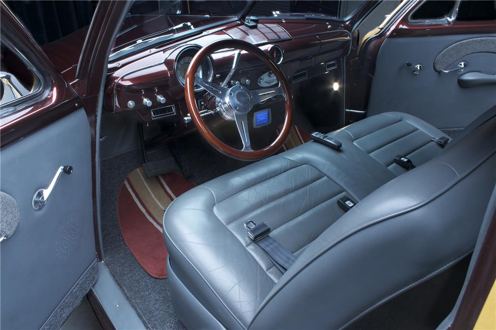 1951 FORD WOODY WAGON - Interior - 81305