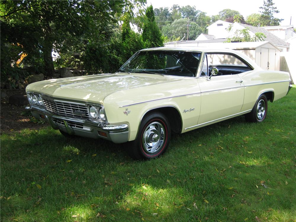 1966 CHEVROLET IMPALA SS 2 DOOR COUPE - Front 3/4 - 81307