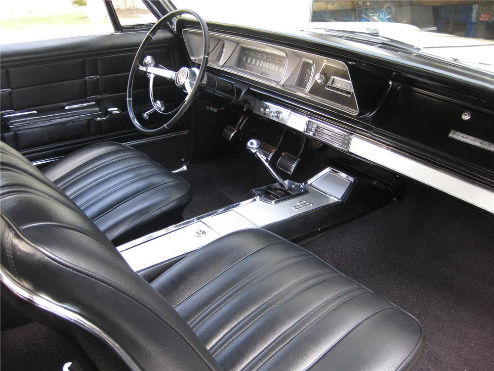 1966 CHEVROLET IMPALA SS 2 DOOR COUPE - Interior - 81307