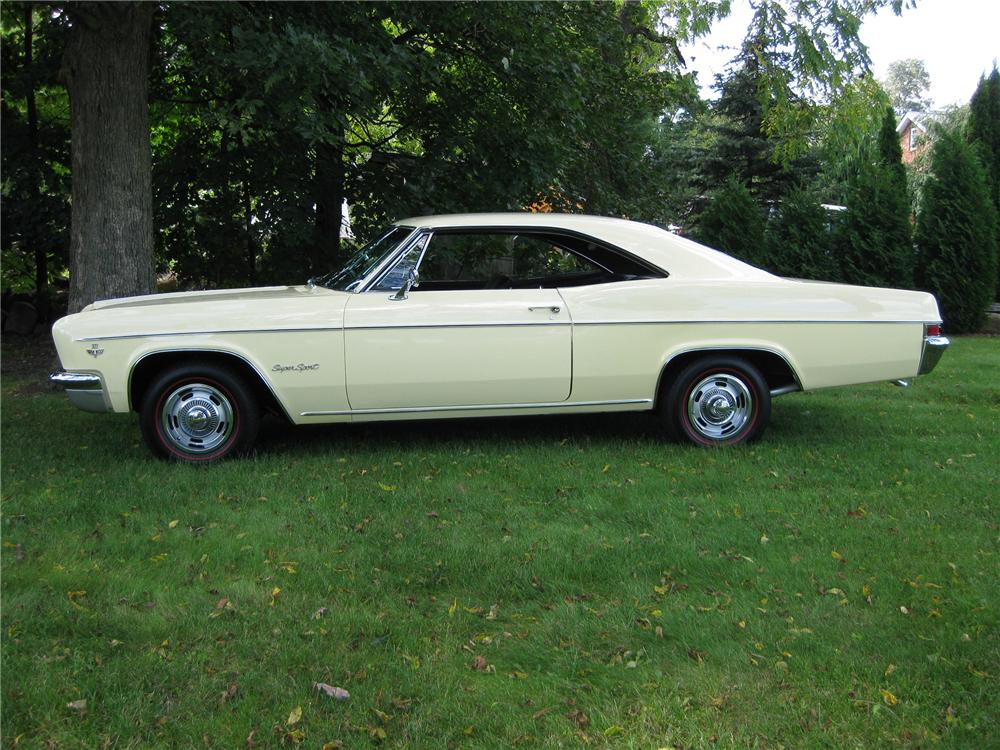 1966 CHEVROLET IMPALA SS 2 DOOR COUPE - Side Profile - 81307