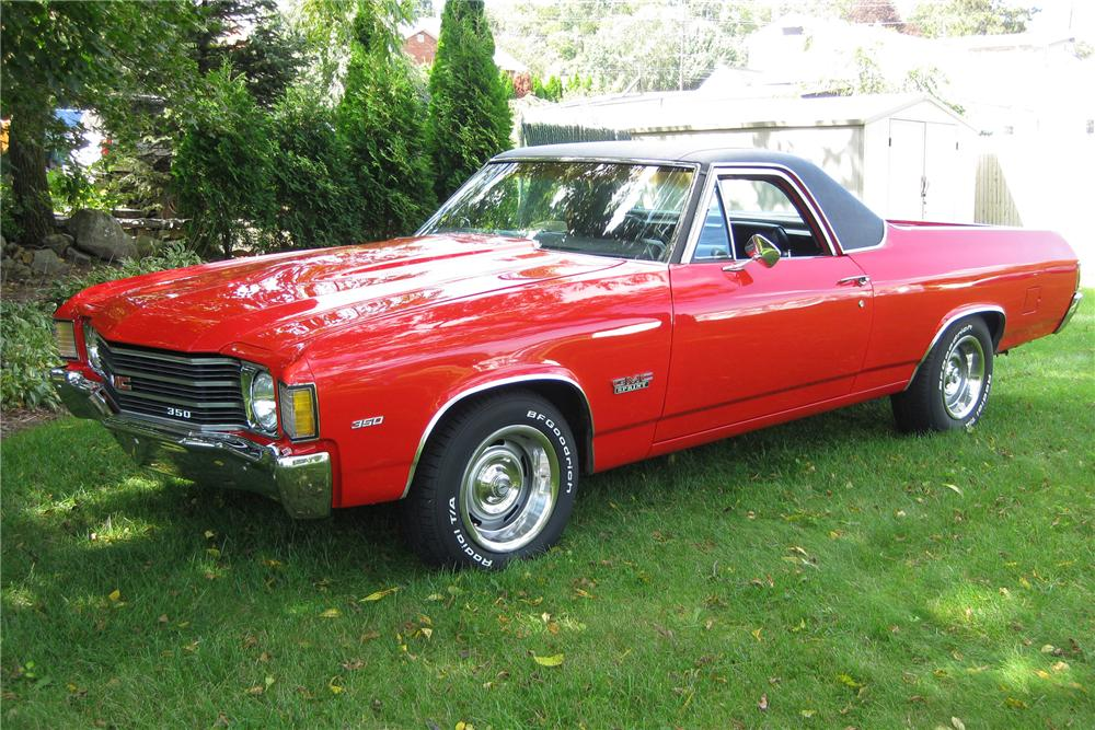 1972 GMC SPRINT PICKUP - Front 3/4 - 81308