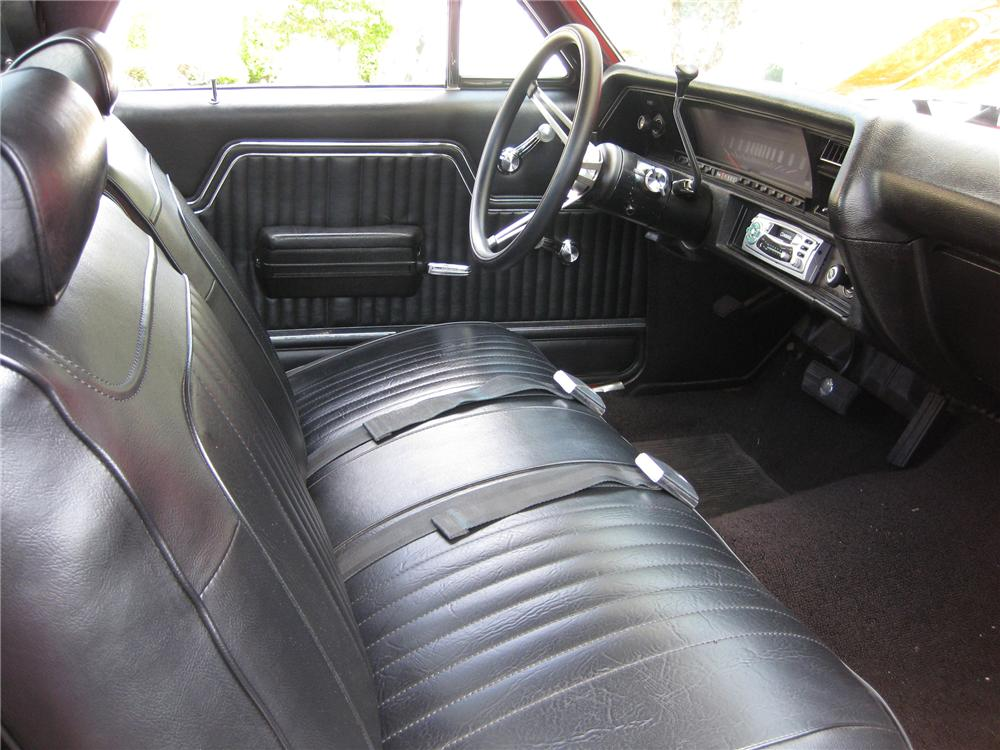 1972 GMC SPRINT PICKUP - Interior - 81308
