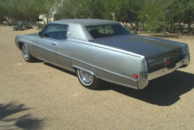 1970 BUICK ELECTRA 225 2 DOOR HARDTOP - Rear 3/4 - 81309