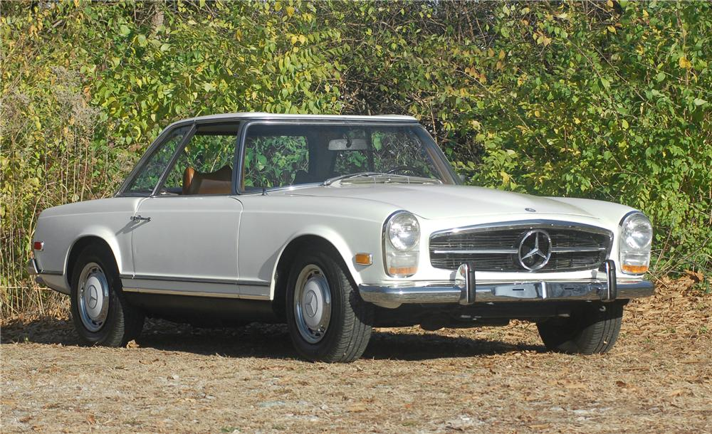 1969 MERCEDES-BENZ 280SL CONVERTIBLE - Front 3/4 - 81318