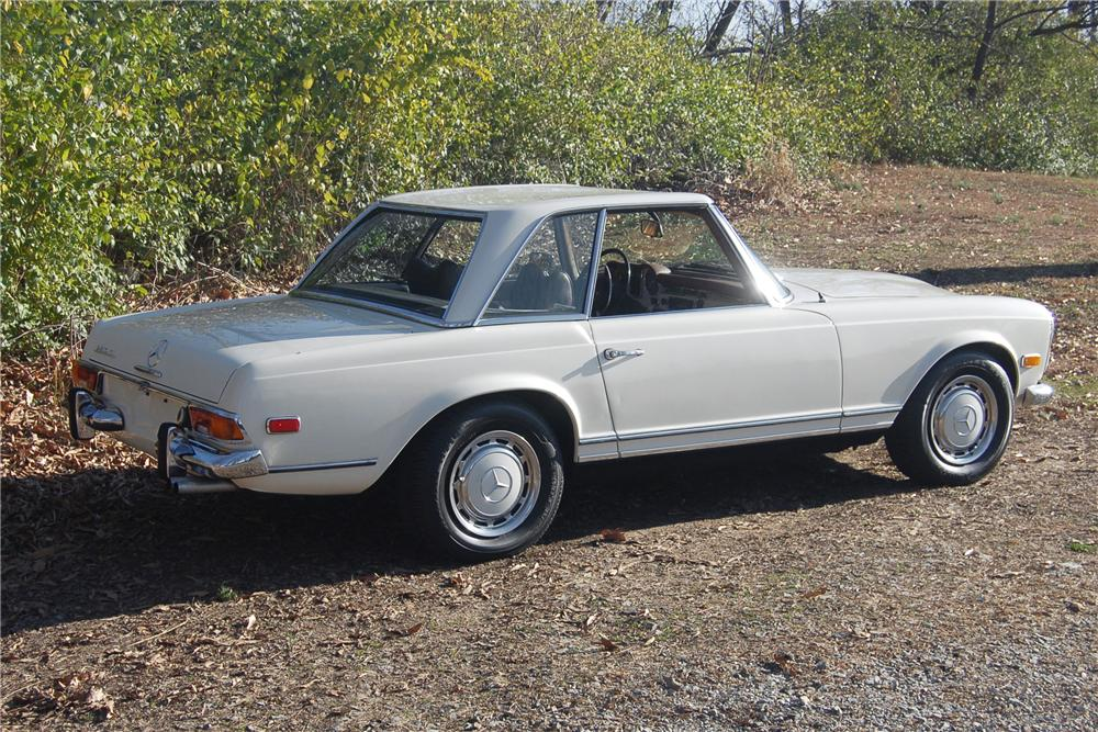 1969 MERCEDES-BENZ 280SL CONVERTIBLE - Side Profile - 81318