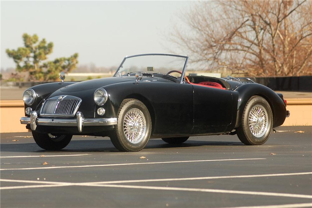 1960 MG A ROADSTER - Front 3/4 - 81319