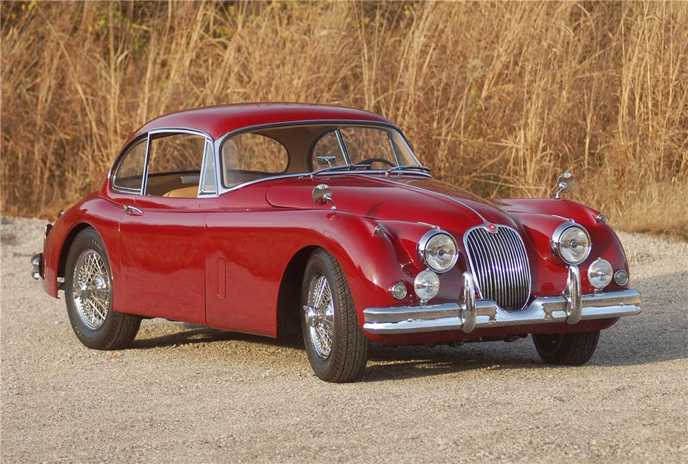 1958 JAGUAR XK 150 FIXED HEAD COUPE - Front 3/4 - 81324
