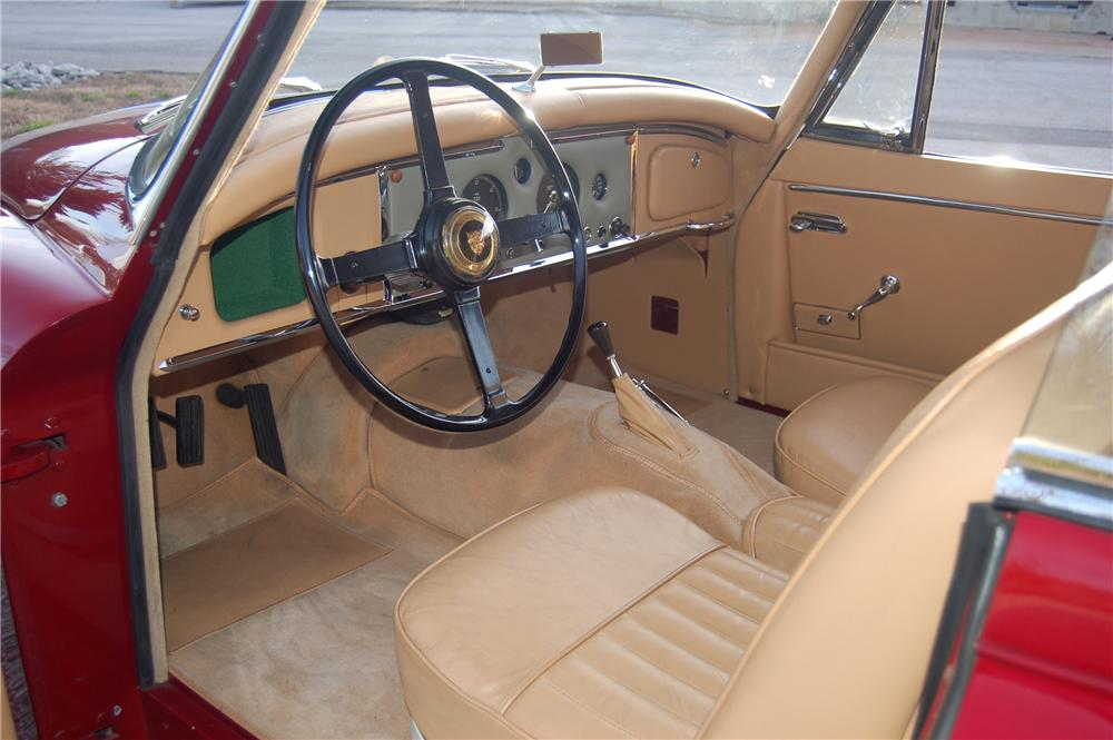 1958 JAGUAR XK 150 FIXED HEAD COUPE - Interior - 81324