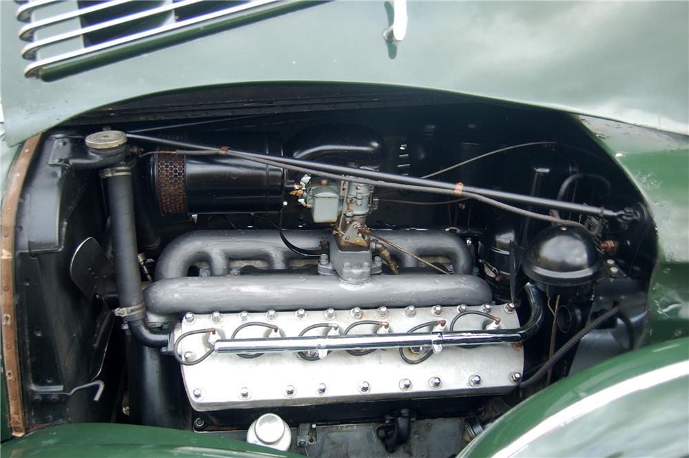 1938 LINCOLN K LIMOUSINE - Engine - 81328