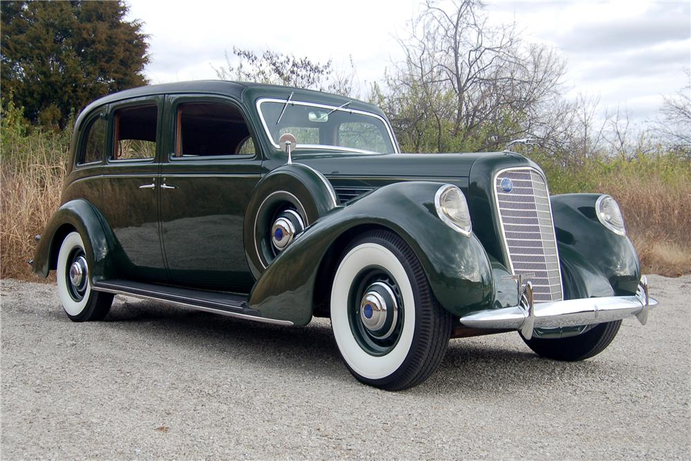 1938 LINCOLN K LIMOUSINE - Front 3/4 - 81328