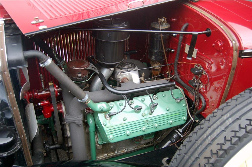 1931 LASALLE 345 A TOURING - Engine - 81330