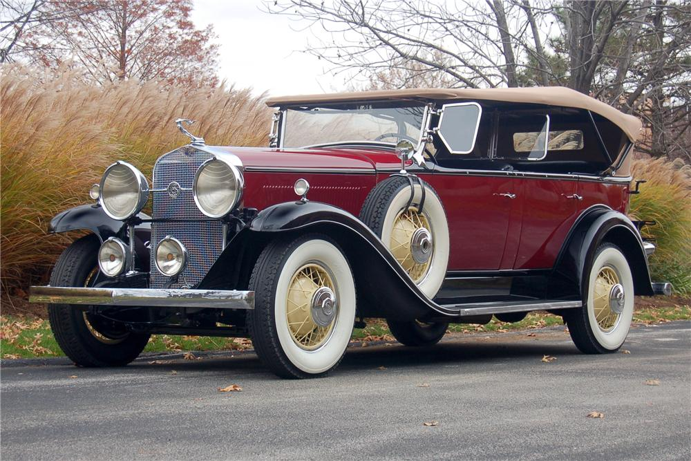 1931 LASALLE 345 A TOURING - Front 3/4 - 81330