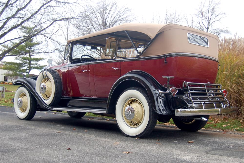 1931 LASALLE 345 A TOURING - Rear 3/4 - 81330
