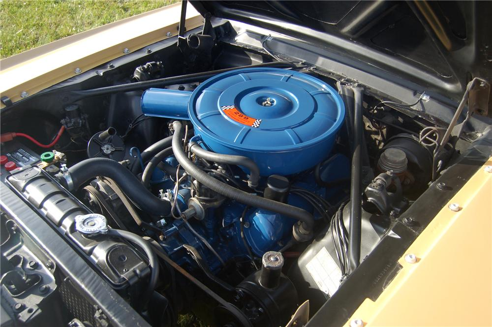 "1966 FORD MUSTANG CONVERTIBLE ""SONNY & CHERS"" - Engine - 81332"