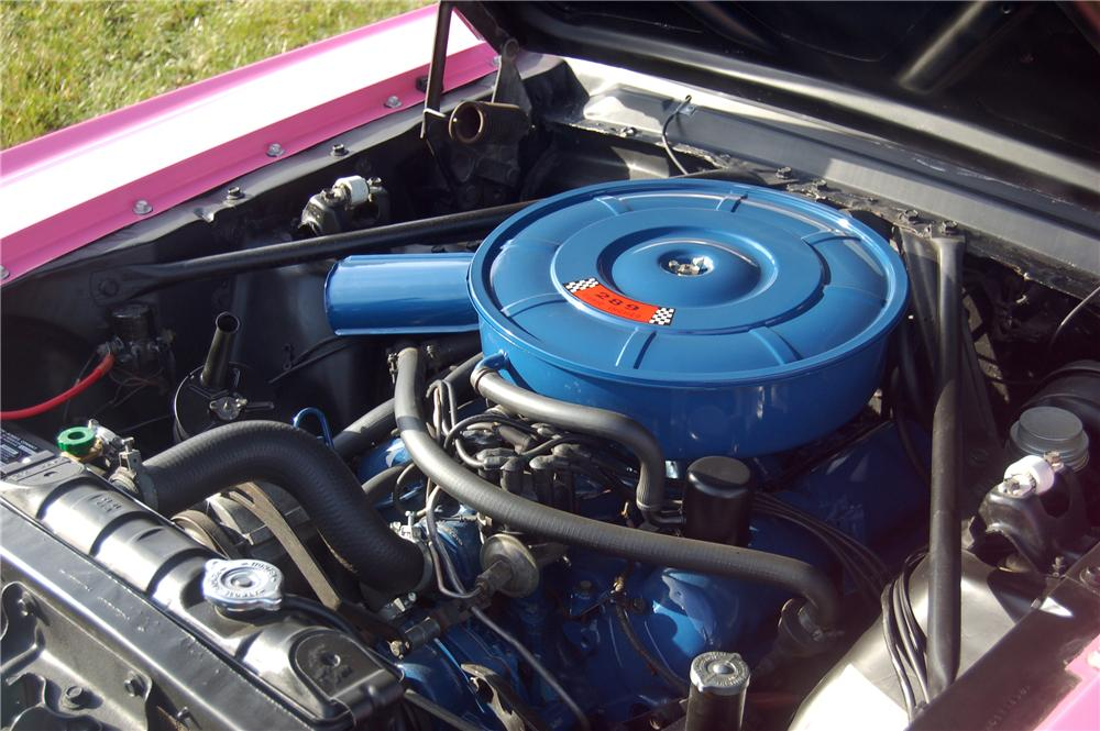 "1966 FORD MUSTANG CONVERTIBLE ""SONNY & CHERS"" - Engine - 81333"
