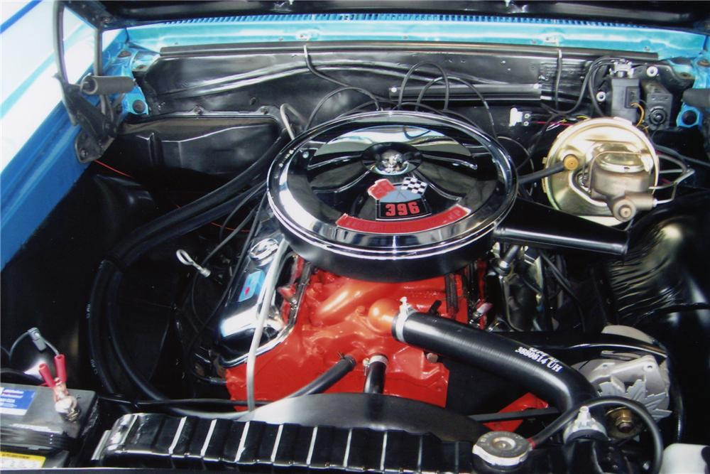 1966 CHEVROLET CHEVELLE SS 396 CONVERTIBLE - Engine - 81337