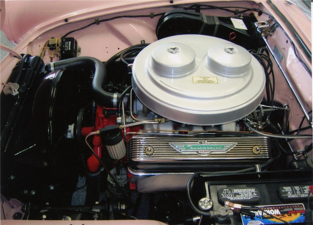 1957 FORD THUNDERBIRD E CONVERTIBLE - Engine - 81339