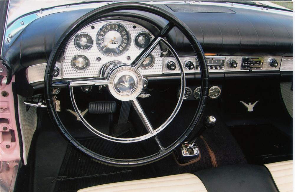 1957 FORD THUNDERBIRD E CONVERTIBLE - Interior - 81339